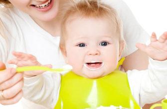 сколько должен съедать ребёнок в 5 месяцев