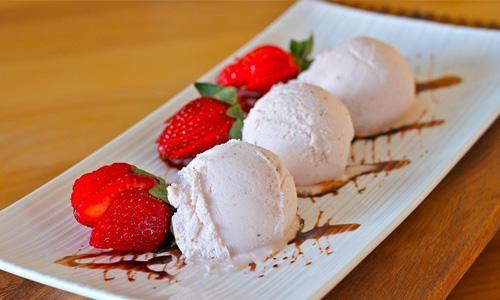 пломбир мороженое при ГВ