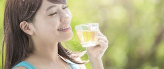 зеленый чай кормящим
