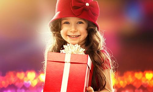 для девочки подарок