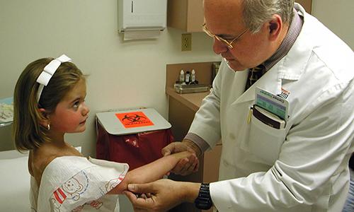 Как лечить лишай у ребенка на ноге