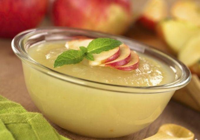пюре из яблок прикорм