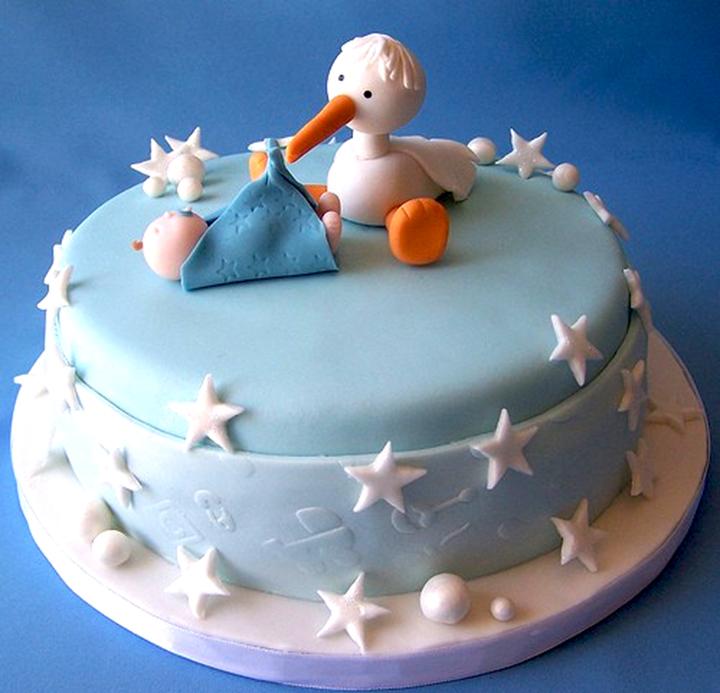 торт - сообщение о беременности
