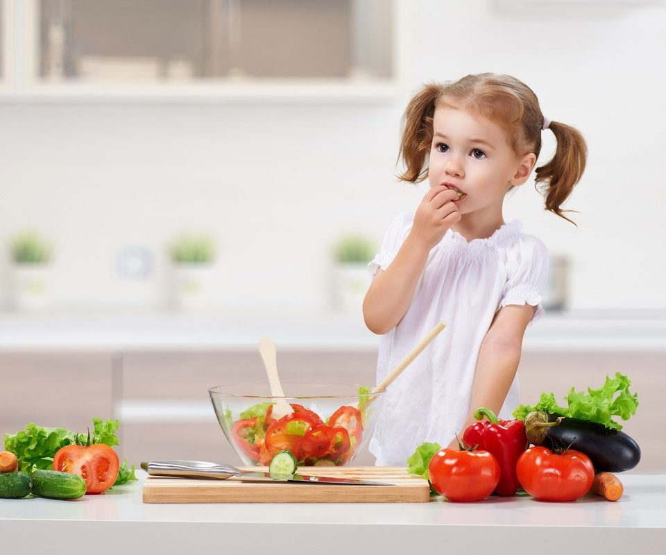 салат для ребенка