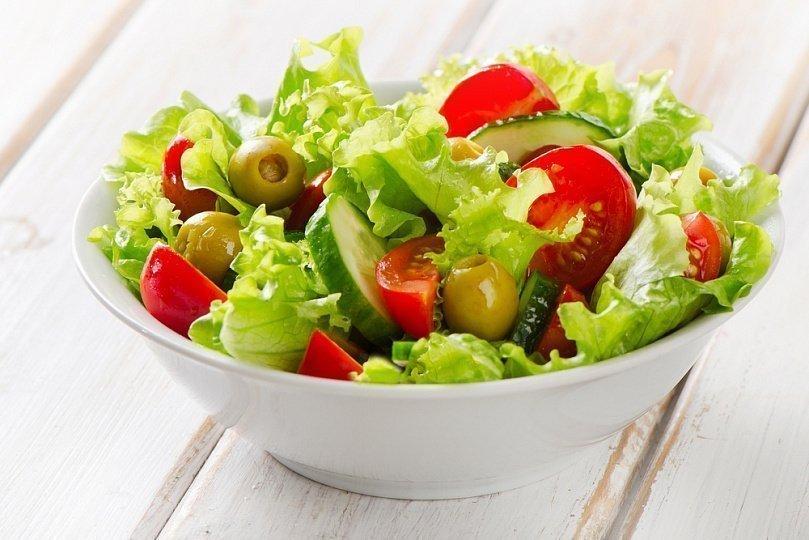салат овощной для детей