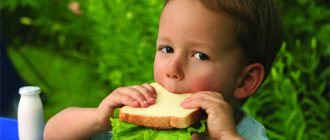 бутерброд детский