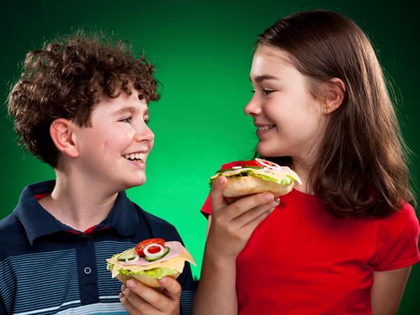 бутерброды в детском меню