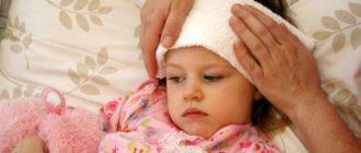 менингит симптомы у детей