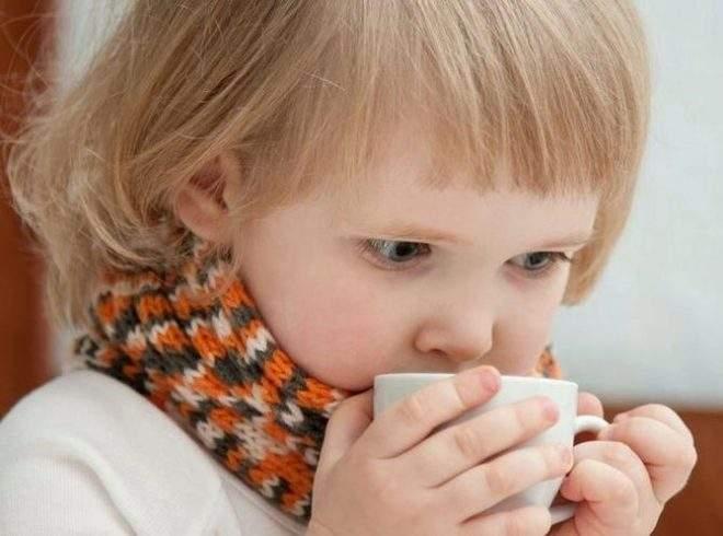 горло болит у ребенка