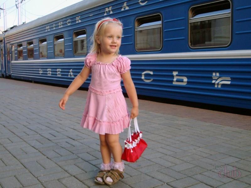 в поезде с ребенком