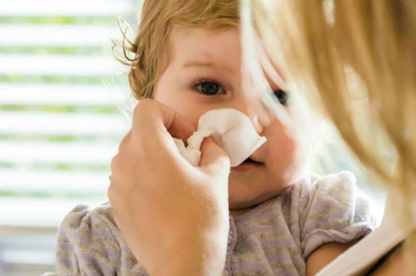 детский насморк