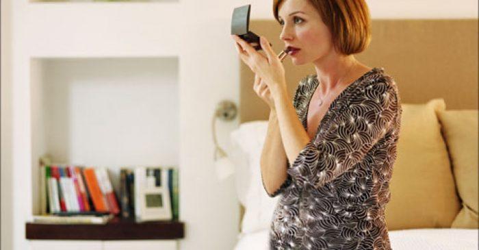 безопасная косметика для беременных