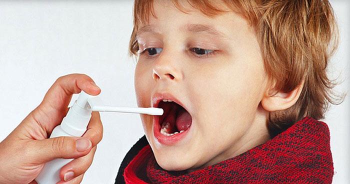 ангина у детей как лечить