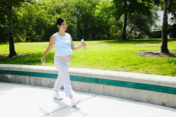 ходьба при беременности где