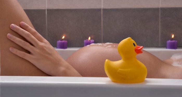 при беременности ванна