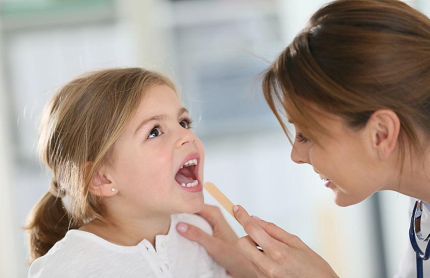 симптомы ангины у детей
