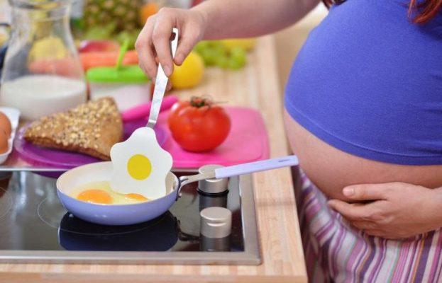 яичница при беременности