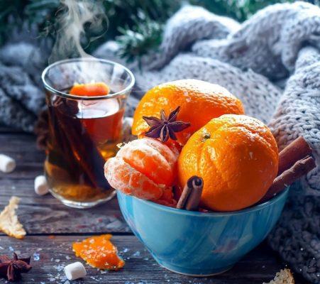фрукты на новый год