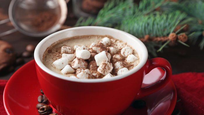 маршмеллоу в какао