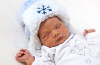 одежда для новорожденного зимой