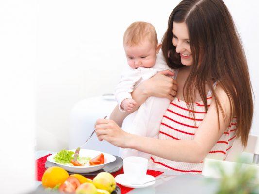 правильное питание при грудном скармливании