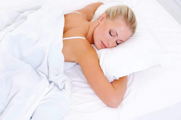 беременным спать на животе