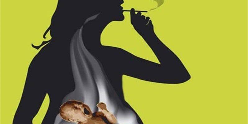 курящая беременная