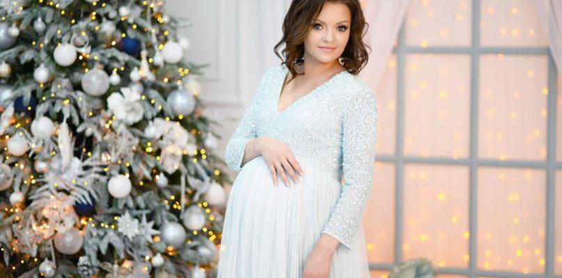 новогоднее платье для беременной