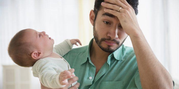 послеродовая депрессия у отца