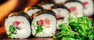 суши беременной можно