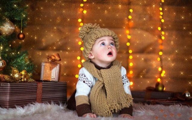 украсить детскую в новый год