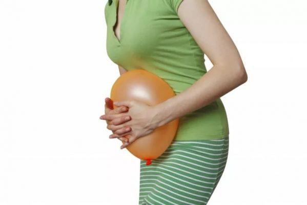 вздутие и газы при беременности