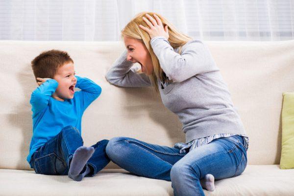 как не орать на ребенка