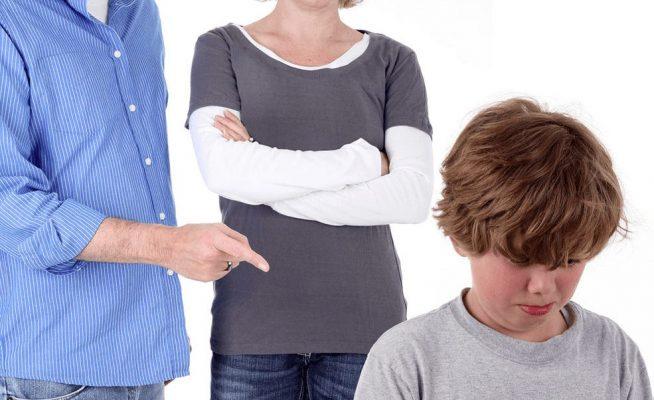 как правильно наказать ребенка