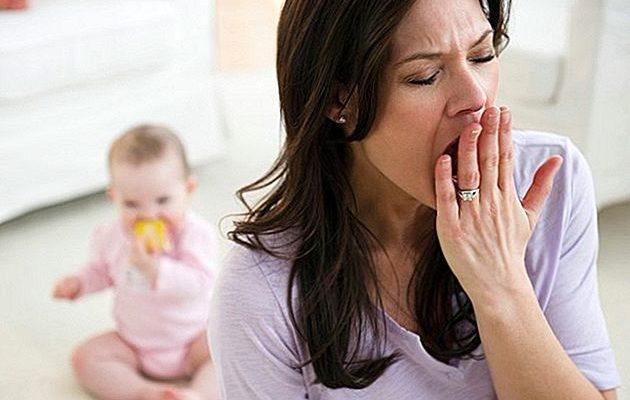 недосыпание матери