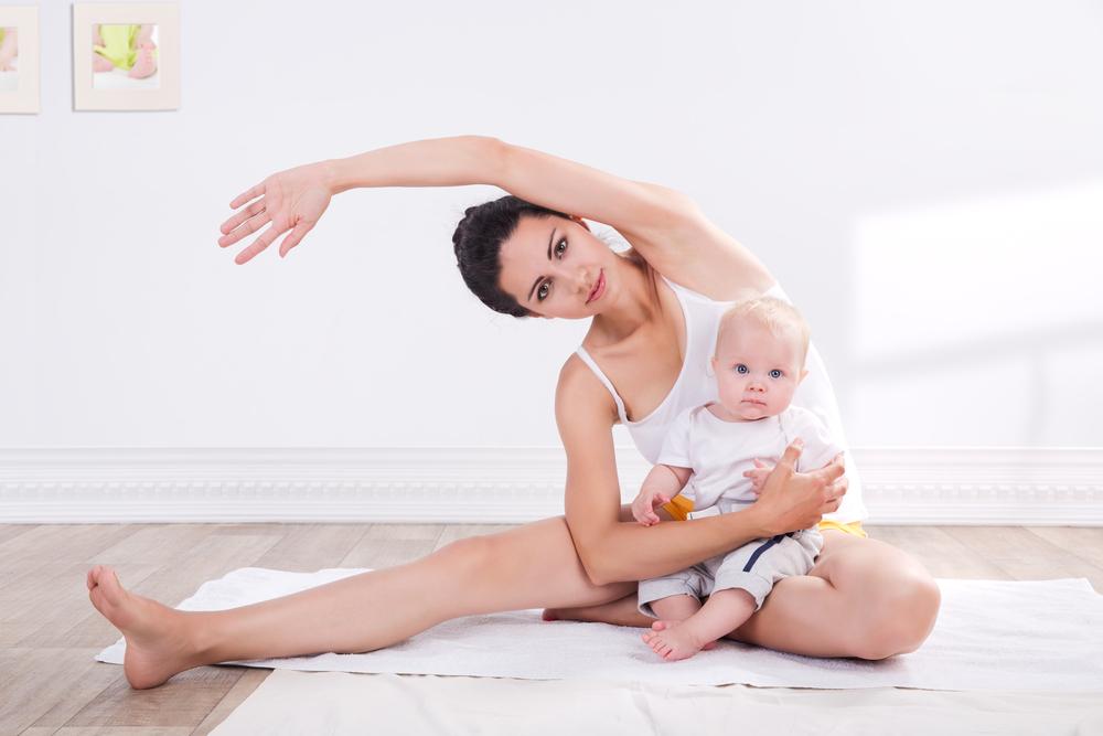 Когда после родов можно заниматься спортом кормящей