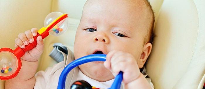 игрушки для ребенка в 3 месяца