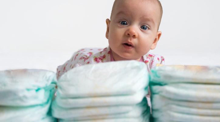 сколько памперсов нужно в день