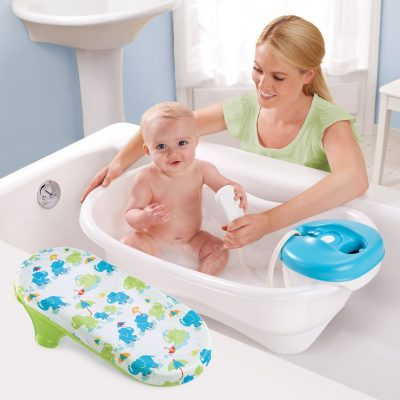 водные процедуры при уходе за кожей младенца