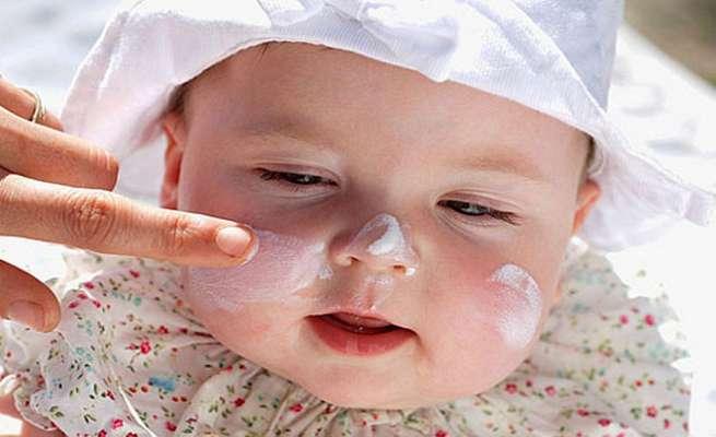уход за кожей лица ребенка летом