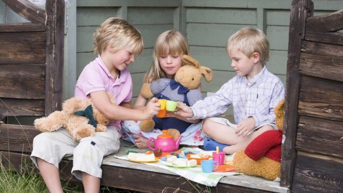 процесс социализации в детском саду