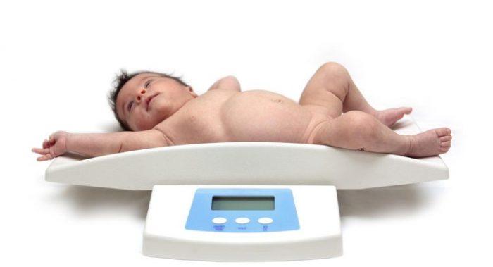 вес ребенка в 6 месяцев