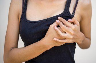 боль в груди при ГВ