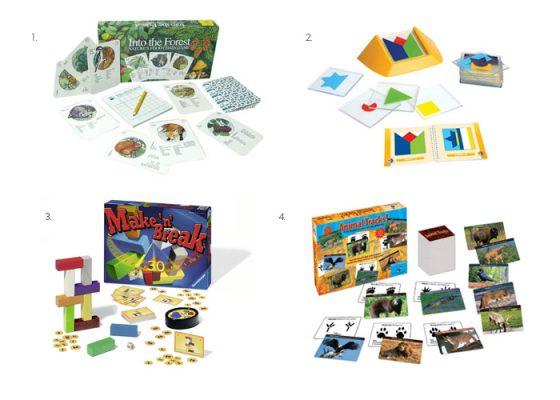 игры для развития ребенка в 4-5 лет