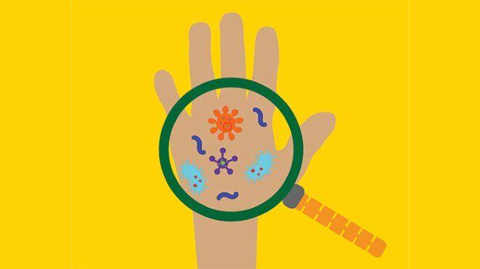 при сосании пальца в организм попадают микробы