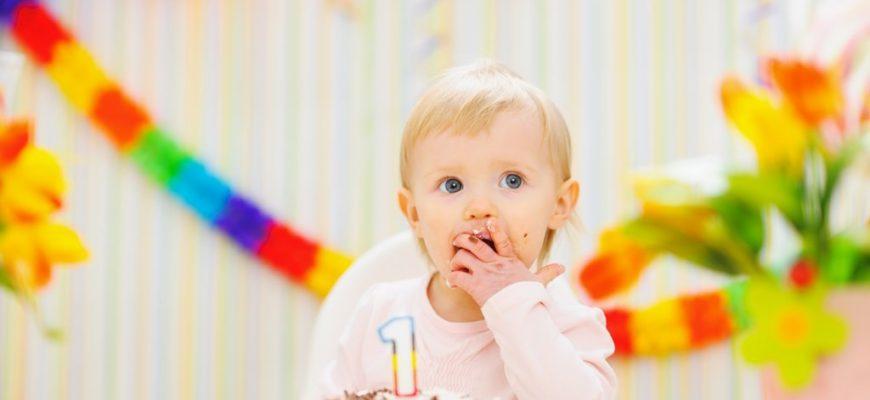 как оригинально отпраздновать первый день рождения ребенка