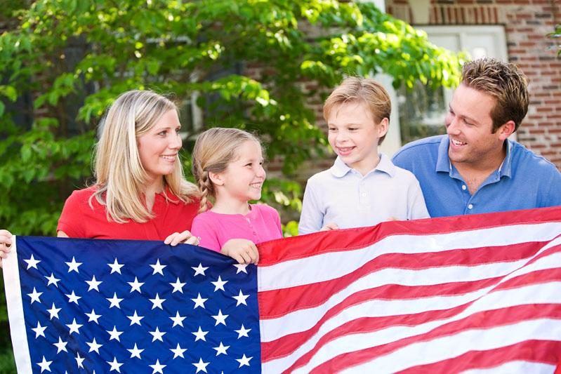 Семья в америке картинки