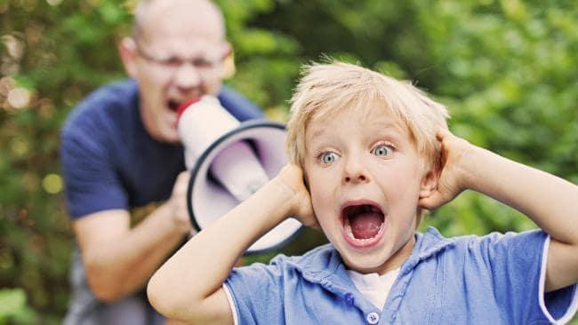 детей нельзя наказывать прилюдно
