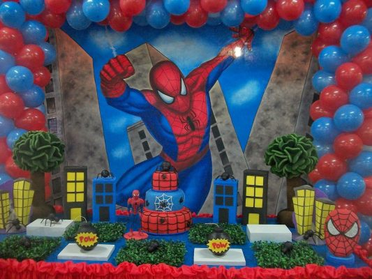день рождения в стиле супер-героя
