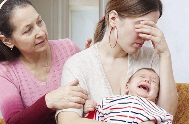 помощь близких маме в декрете